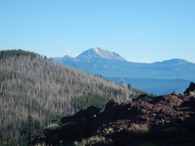 Mt. Lassen in the distance.