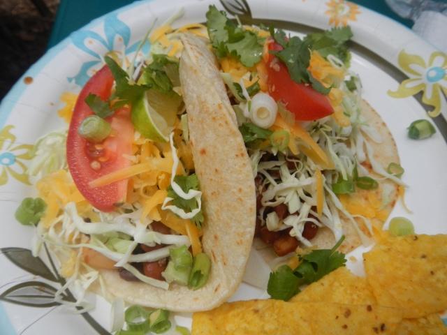 Emu tacos...delish